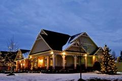 Christmas Exterior Decorating and Lighting